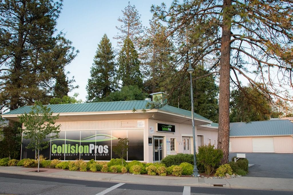 Collision Pros Paradise is located at 6036 Foster Road, Paradise CA 95969