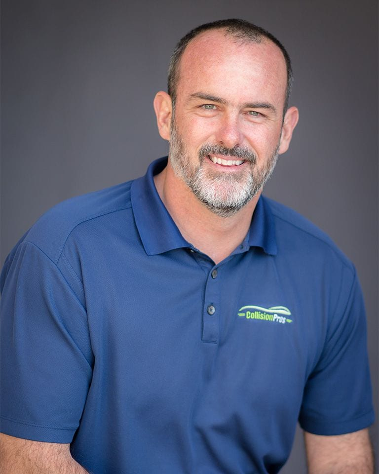 Jason Meehan is the regional manager for Collision Pros
