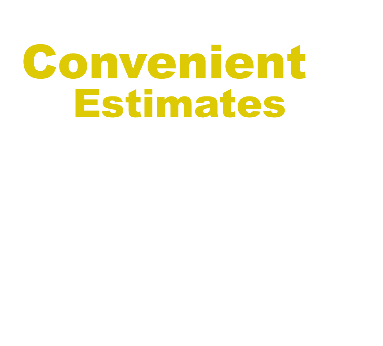 Collison Pros allows you to get estimates using your mobile phone